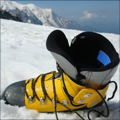 La Sportiva boots supplied by Lyon Equipment