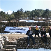 EBC team arrive at Namche Laboratory