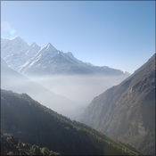 Cloud above Namche
