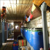 The Namche lab corridor