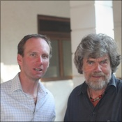 Dan Martin and Reinhold Messner