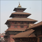 A view of Patan palace