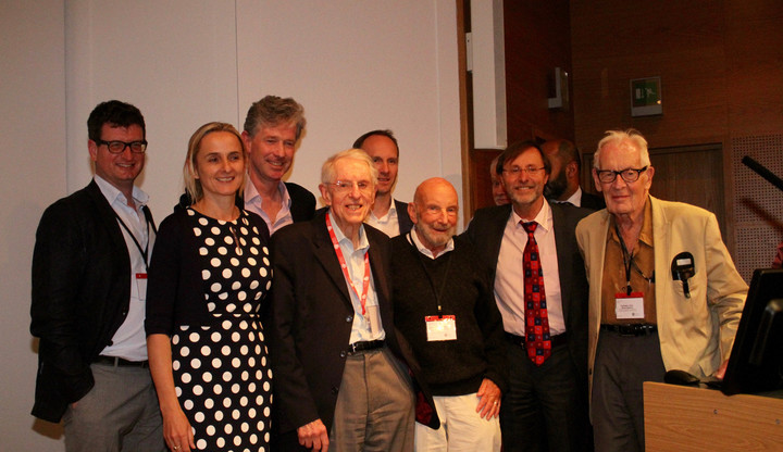 Some of the speakers from the 10th Anniversary conference