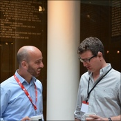 Dr Andrew Murray catches up with one of our conference attendees