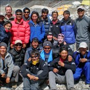 Xtreme Everest Sherpa climbing team