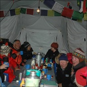 Group M Mess Tent Base Camp