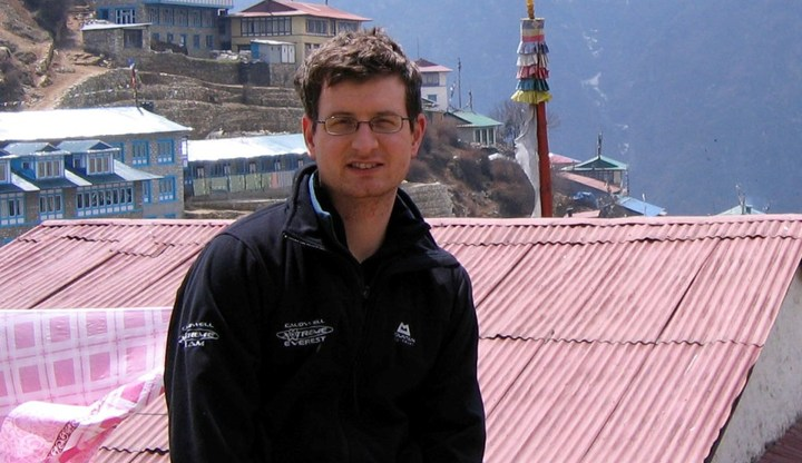 Andrew Murray at Namche